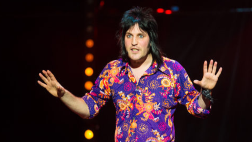 Noel Fielding's Goth Hair Has Gone Missing And There's A National Emergency