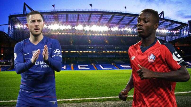 Chelsea Target £70 Million Nicolas Pepe To Replace Eden Hazard