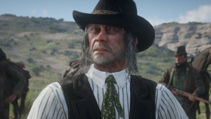 ​Real-Life Colm O'Driscoll Sent Hate Mail From Red Dead Redemption 2 Fans