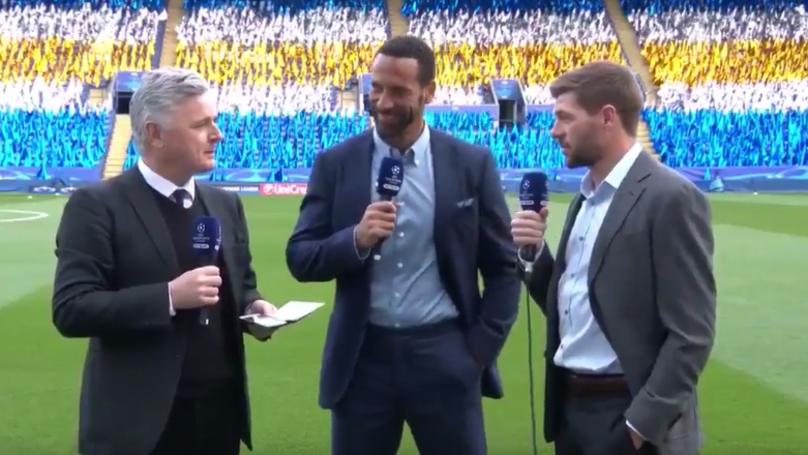 WATCH: Steven Gerrard Wants Antoine Griezmann Kept Far Away From Man United