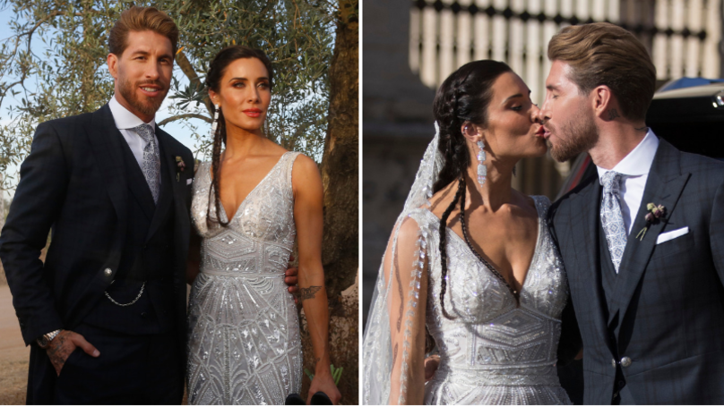 Sergio Ramos Only Allowed One Guest To Use Their Phone At His Wedding