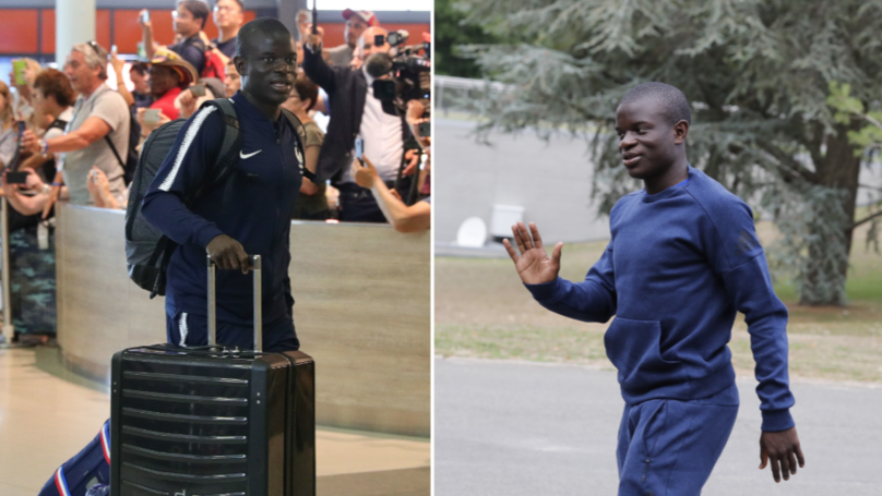 N'Golo Kante Turns Up At France's Training Base Six Hours Early