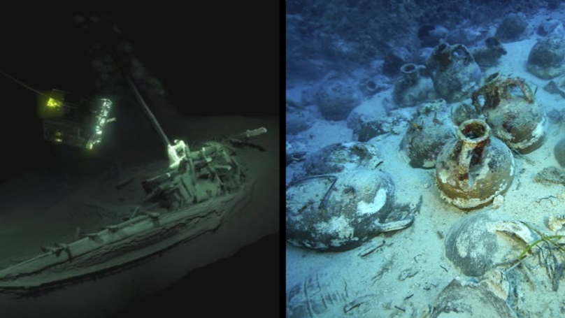 Shipwreck Discovered In The Black Sea Believed To Be 'Oldest Ever'