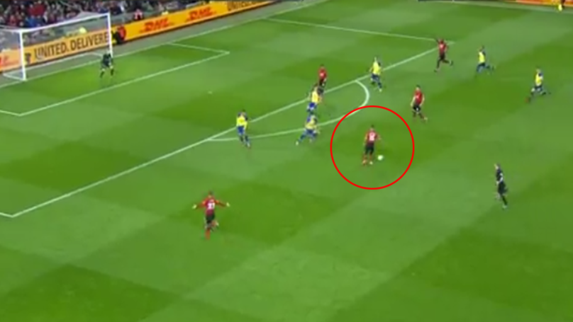 Andreas Pereira Scores A Stunning 25-Yard Curler To Bring Manchester United Level