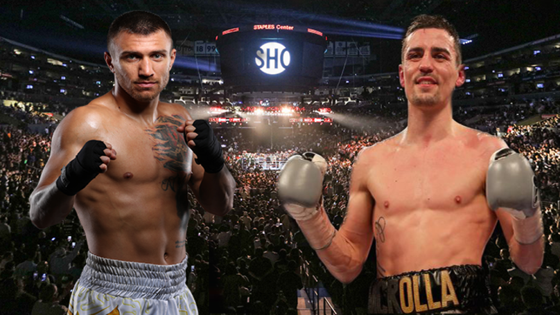 Anthony Crolla To Fight Vasyl Lomachenko On 12th April In America