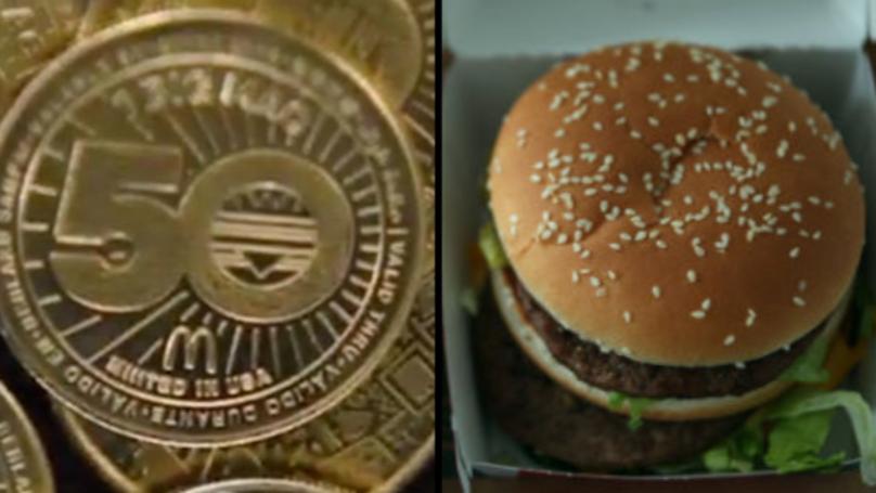 McDonald's Launches Free Big Mac 'MacCoin' Currency To Mark Burger's 50th Anniversary