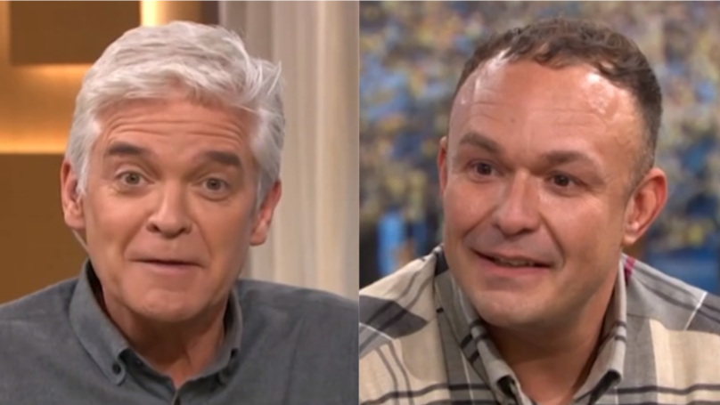 ​Phillip Schofield Can't Stop Laughing As Man On 'This Morning' Discusses What It's Like To Get Penis Fillers
