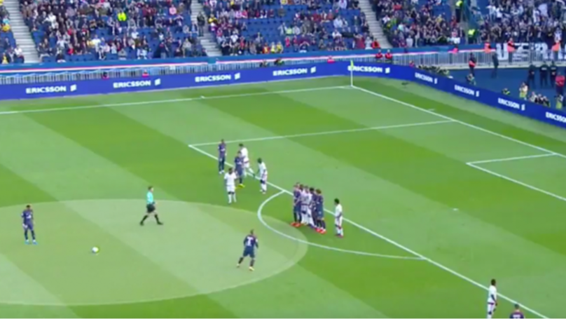 WATCH: Neymar Scores A Sensational 35-Yard Free-Kick