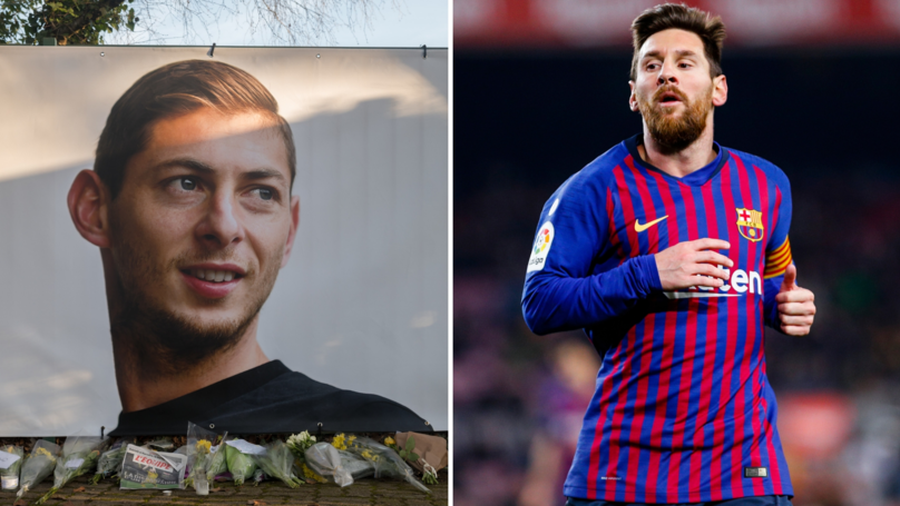 Lionel Messi Pleads For Emiliano Sala Rescue Efforts To Continue
