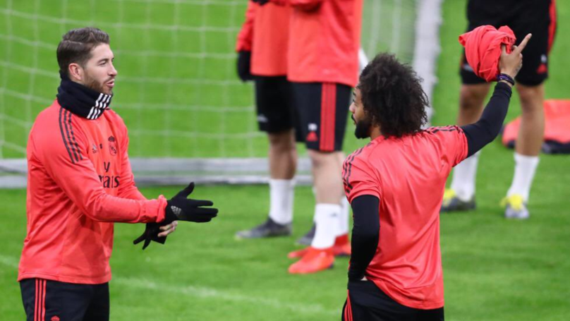 Sergio Ramos And Marcelo Involved In Training Ground Bust-Up