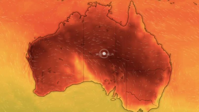 Australia's Weather Map Turns Black Because It's So Damn Hot