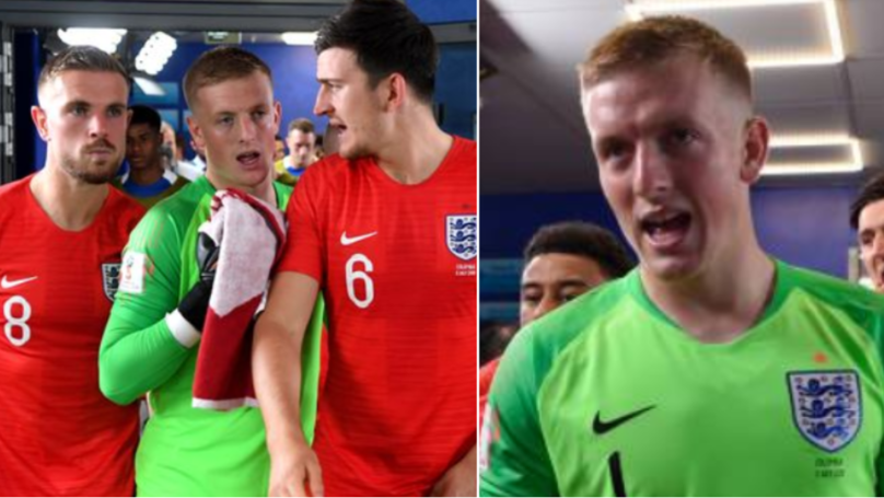 How Jordan Pickford Responded When Croatian TV Crew Taunted Him In Tunnel After Full-TIme