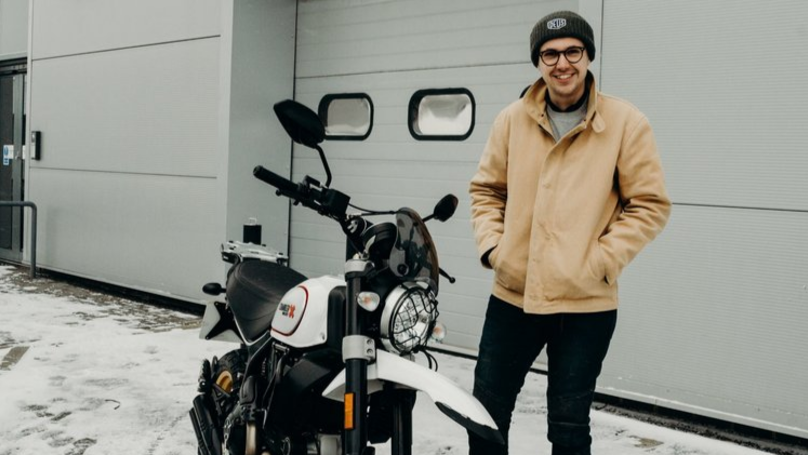 LAD Hoping To Become Youngest To Circumnavigate Globe On Motorbike