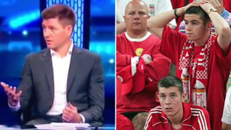 Watch: Steven Gerrard Accidentally Confirms Liverpool Player Is Leaving Club