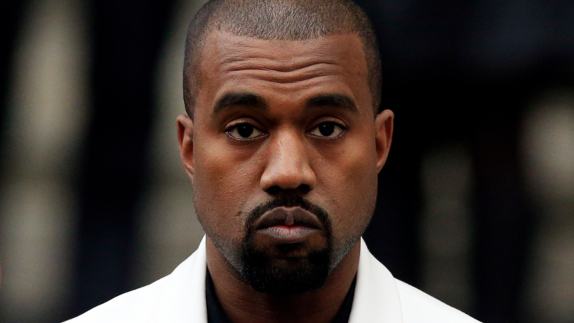 Kanye West Wears Yeezy Slides To Wedding And Is Ridiculed Online