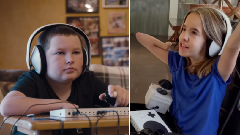 Microsoft Praised For Inspiring Advert Featuring Children With Additional Needs