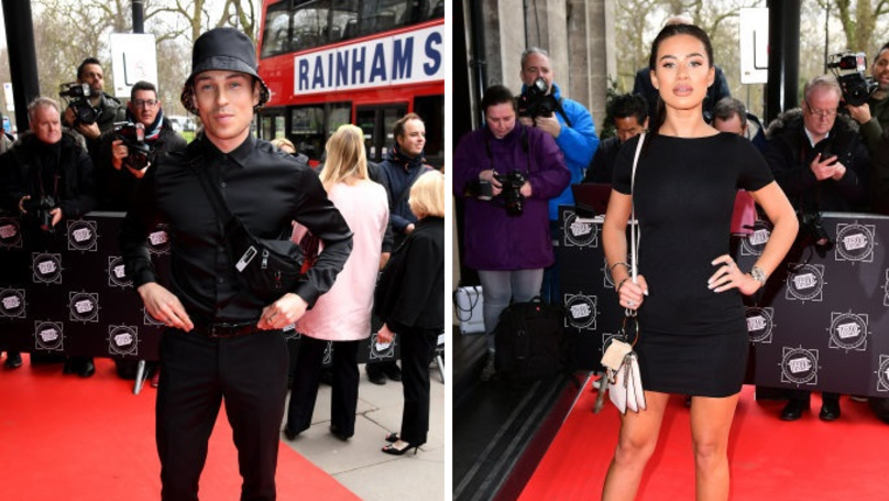 ​Love Island's Montana Brown and Joey Essex Leave Tric Awards Together
