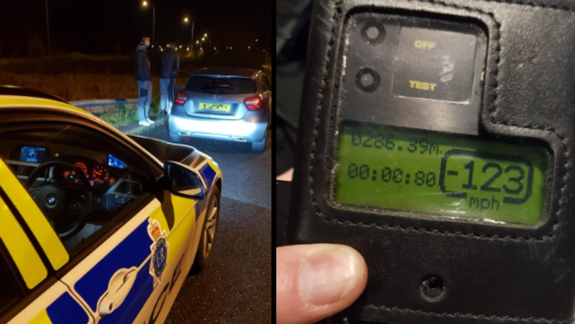Man Caught Doing 123mph Told Police He Was Speeding To 'Get A Kebab'