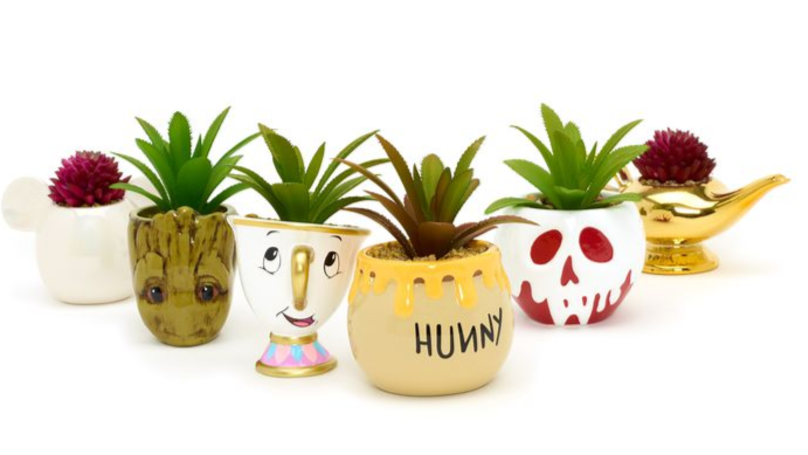 Disney Is Selling Adorable Mini Plant Pots And We Need Them All