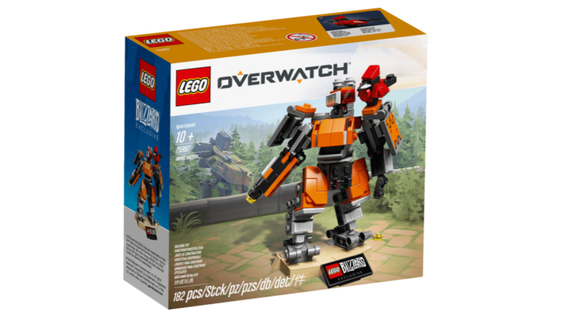 ​Bastion & Ganymede Revealed As First Overwatch LEGO Set