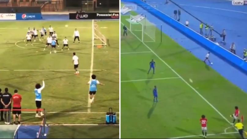 Proof That Mohamed Salah's Goal From A Corner Wasn't A Fluke