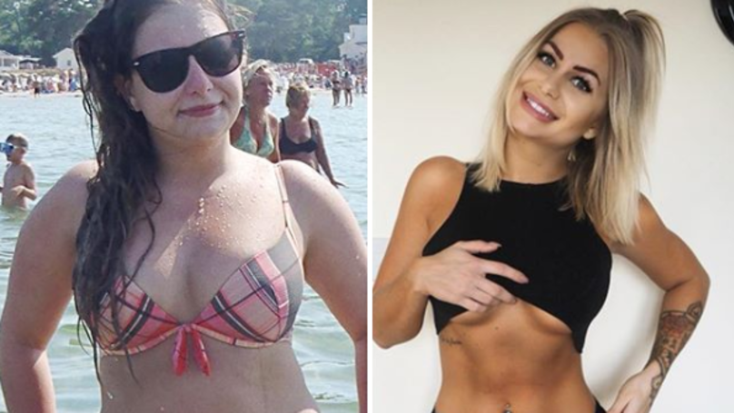 This Fitness Vlogger Shows Her Body Transformation After Cutting Out Alcohol