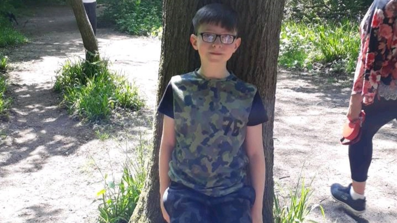 Mum Left Terrified After Spotting 'Ghost' Behind Her Son In Photo