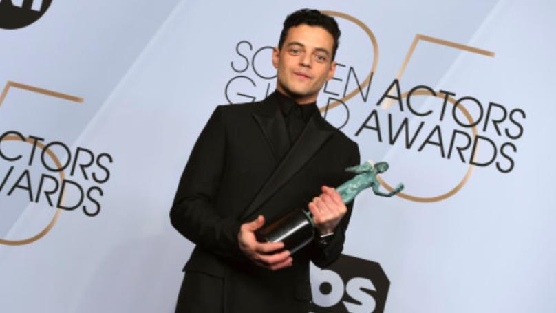 Rami Malek Dedicated His Screen Actors Guild Award To Freddie Mercury