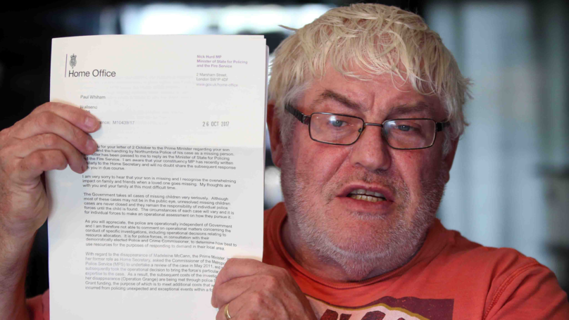 Dad Of Missing Man Slams Continued Funding of Madeleine McCann Probe