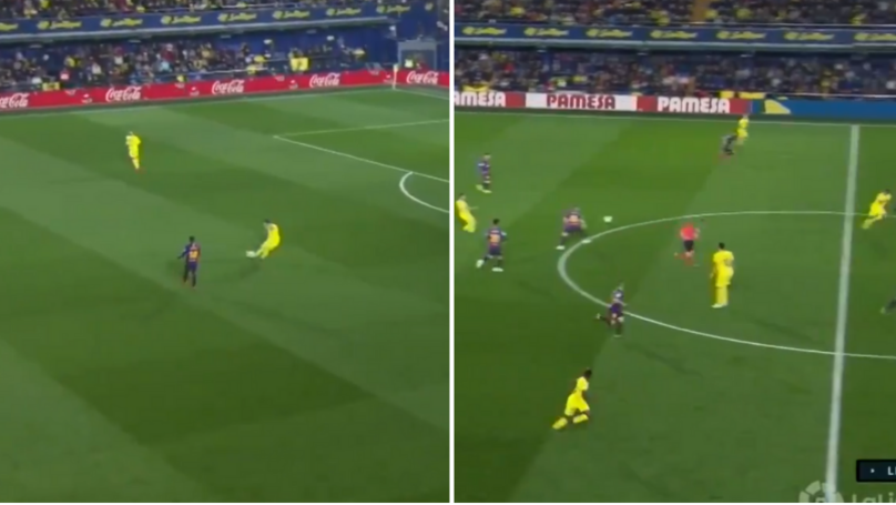 Santi Cazorla Dropped An Absolute Masterclass Against Barcelona Last Night