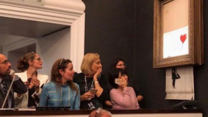 Art Experts Claim Shredded Banksy Art Will Now Be Rate Double thumbnail