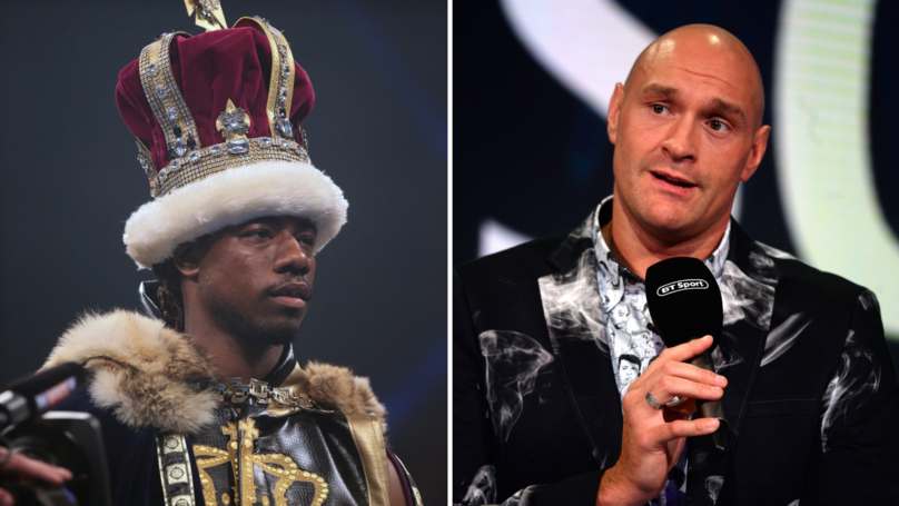 ​Tyson Fury Is Eyeing Up September Return For Clash With 'Prince' Charles Martin