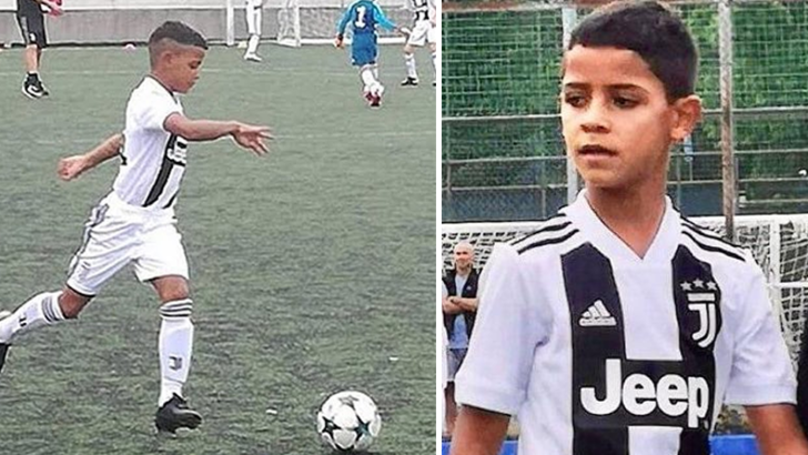 Cristiano Ronaldo Jnr Produced Another Four Goal Display