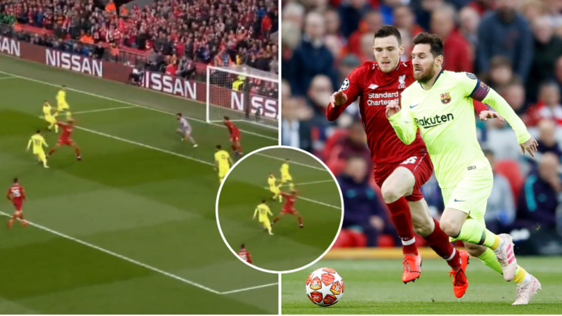 Liverpool Fans Have Brilliant Theory Explaining Lionel Messi's Anonymous First Half Performance