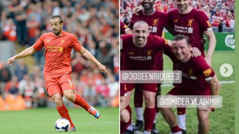 Jose Enrique Has Played For The First Time Since Beating Brain Cancer