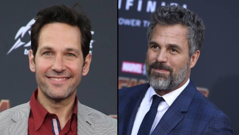 Paul Rudd And Mark Ruffalo Recreated An 'Avengers' Red Carpet Meme