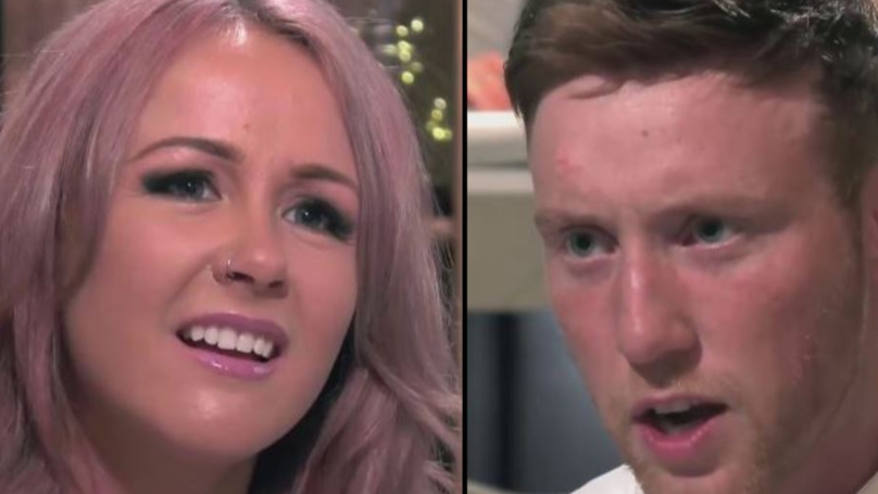 Woman In Disbelief That Guy On 'First Dates Hotel' Is Wearing A Wig