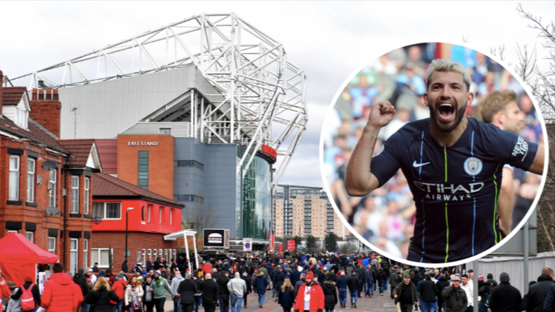 A 'Loud Cheer' Was Heard From Old Trafford When Man City Scored Against Burnley