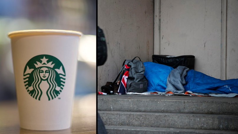Teenager Says Starbucks Employee Told Her Not To Help Homeless Man