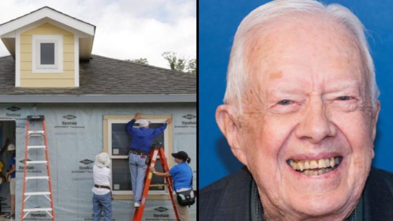 Ex-US President Jimmy Carter Still Lives In House He Built Before His Presidency