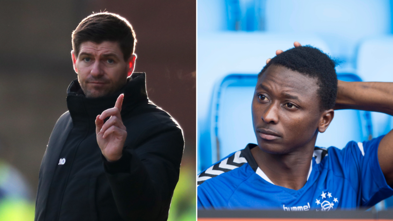 Umar Sadiq Says Steven Gerrard 'Humiliated' Him And Claims Rangers Still Owe Him His December Wages