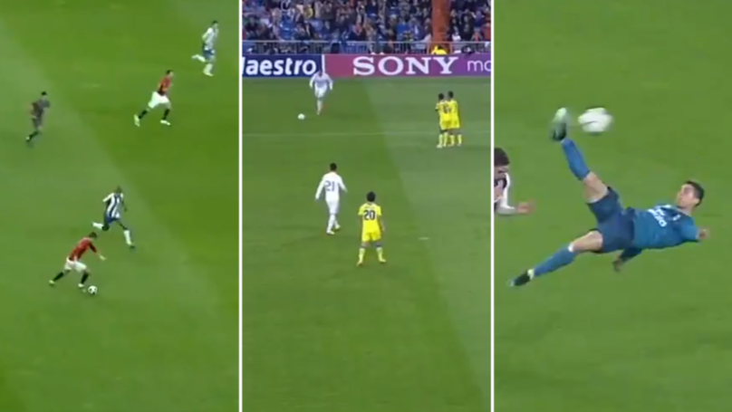 Cristiano Ronaldo's Champions League Goals In The Quarter-Finals Are Just Unbelievable