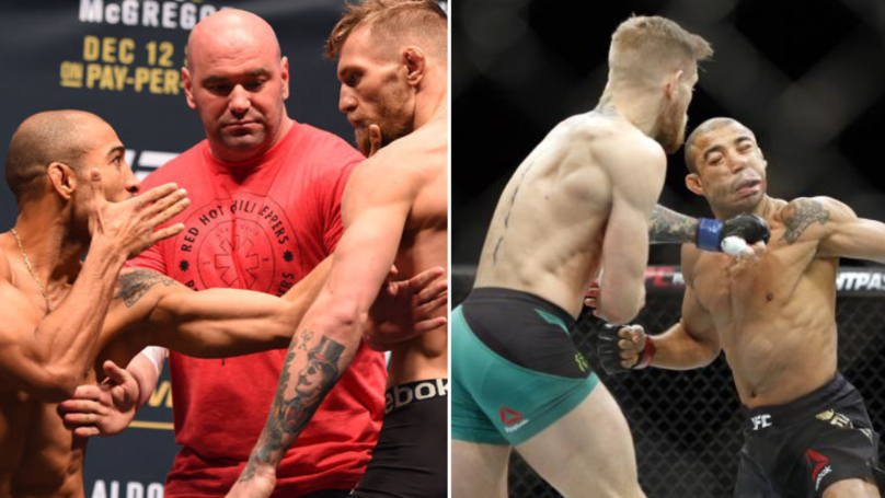 Conor McGregor Vs. Jose Aldo Rematch In The Works For UFC 244 In New York