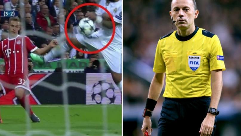 Unhappy Bayern Fans Troll Referee Cuneyt Cakir