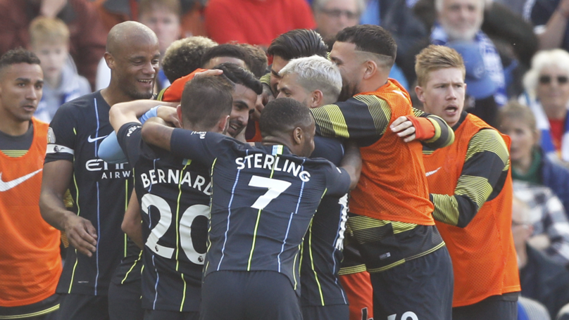 Manchester City Clinch Premier League Title With Away Win At Brighton