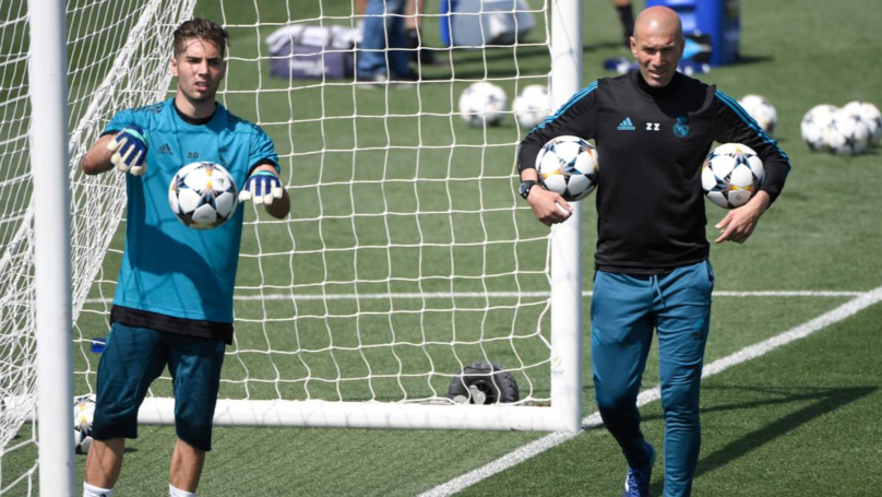 Zinedine Zidane Has Picked His 20-Year Old Son In Goal For Game Against Huesca