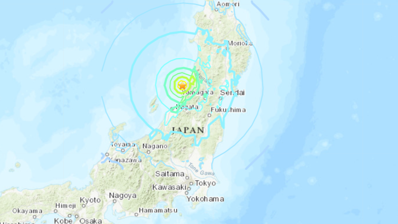 Tsunami Warning Issued In Japan After 6.8 Earthquake