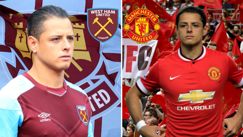 Javier Hernández Posts Touching Message To Manchester United Fans After Receiving A Standing Ovation