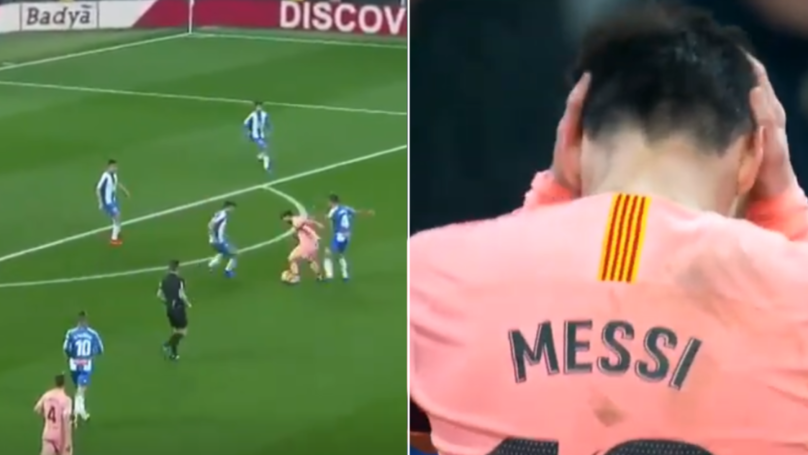 Even For Lionel Messi's Standards, This 'Impossible' Dribble Will Blow Your Mind