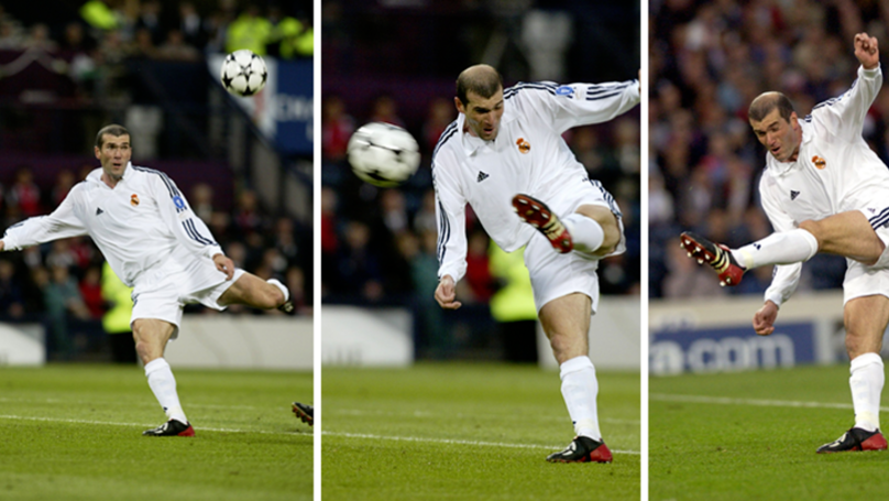 16 Years Ago Today, Zinedine Zidane Scored THAT Volley In The Champions League Final